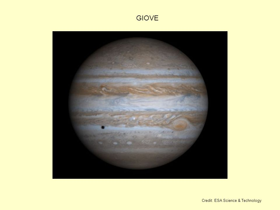GIOVE Credit: ESA Science & Technology