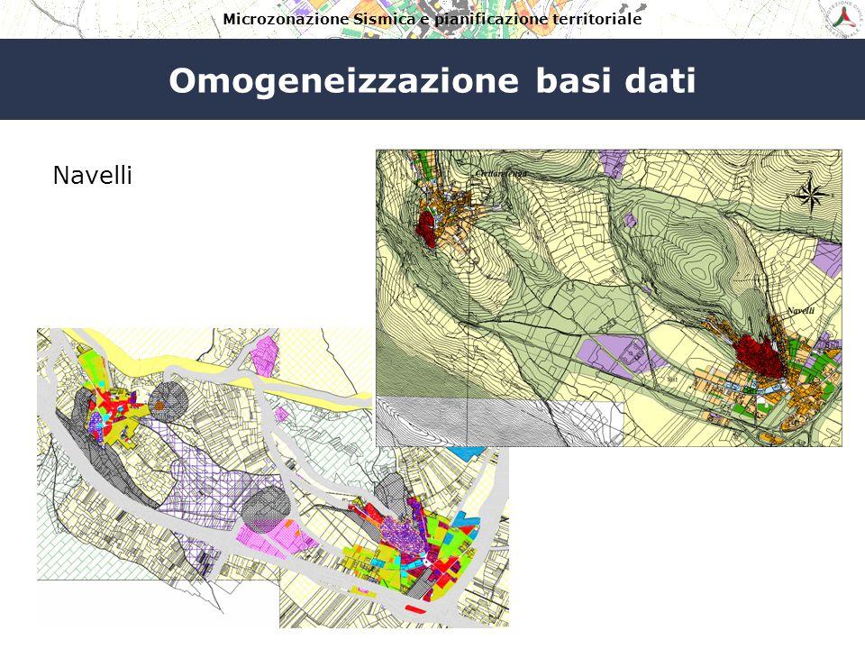 Microzonazione Sismica e pianificazione territoriale Omogeneizzazione basi dati Goriano Sicoli