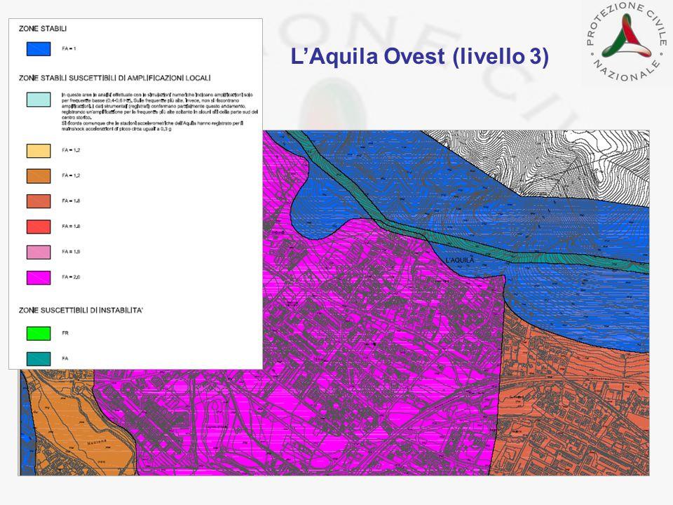 LAquila Ovest (livello 3)