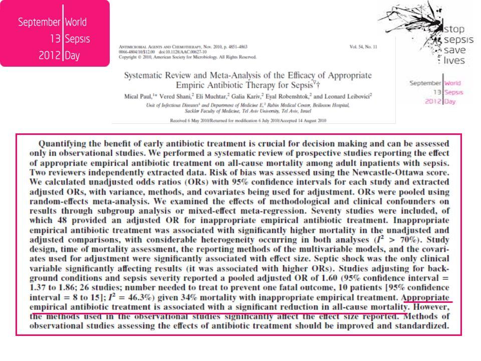 % I/R Gram-Negativi 1°sem 2012 : Emocolture Policlinico Non esiste un antibiotico per Gram-negativi che utilizzato in terapia empirica possa garantire una copertura del 100%