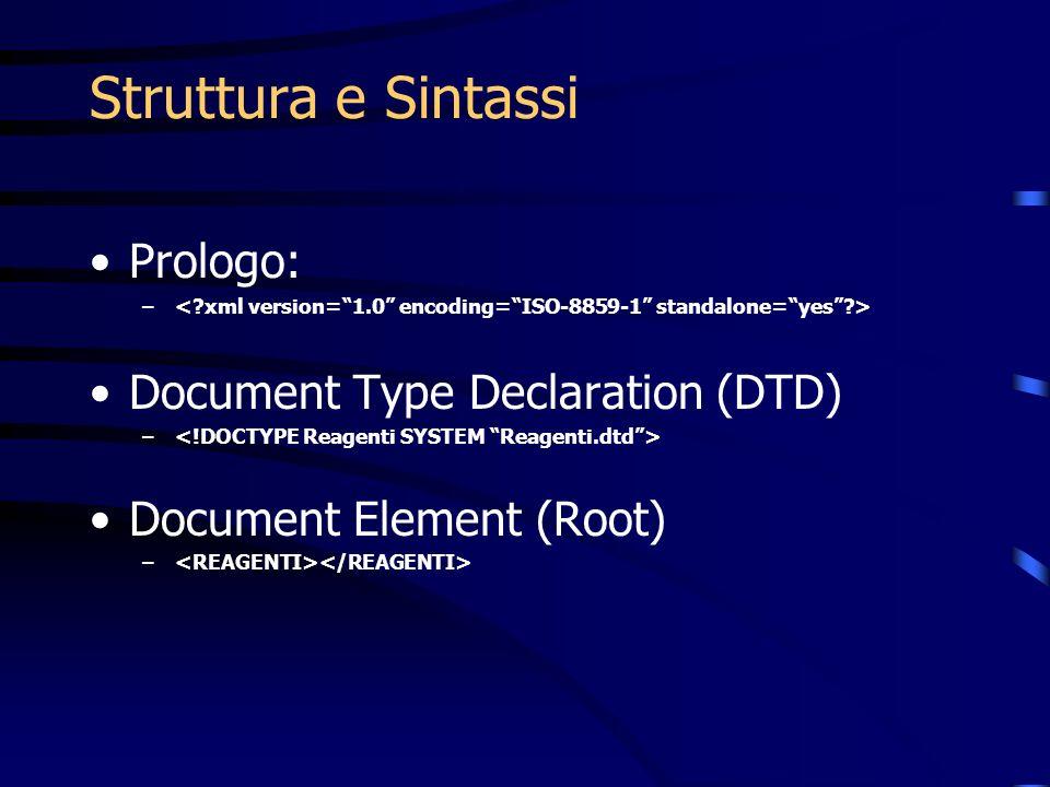 XML+DTD = ML DTD Mark-Up Language