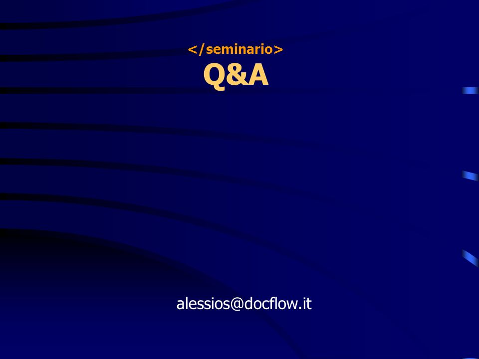 Q&A alessios@docflow.it