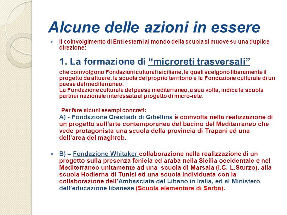 C) – La Sovrintendenza dei Beni Culturali di Trapani è impegnato nello sviluppo di un progetto (La battaglia delle Egadi) che coinvolge lI.C.