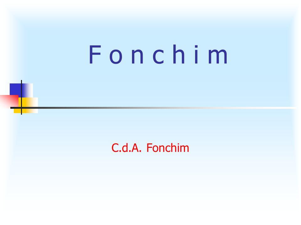 C.d.A. Fonchim F o n c h i m
