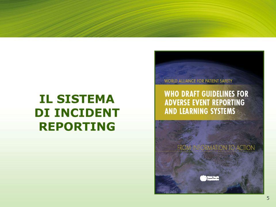 IL SISTEMA DI INCIDENT REPORTING 5