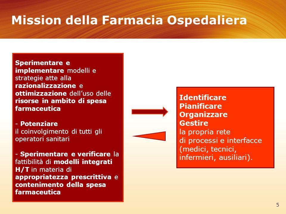 Sperimentare e implementare modelli e strategie atte alla razionalizzazione e ottimizzazione delluso delle risorse in ambito di spesa farmaceutica - P