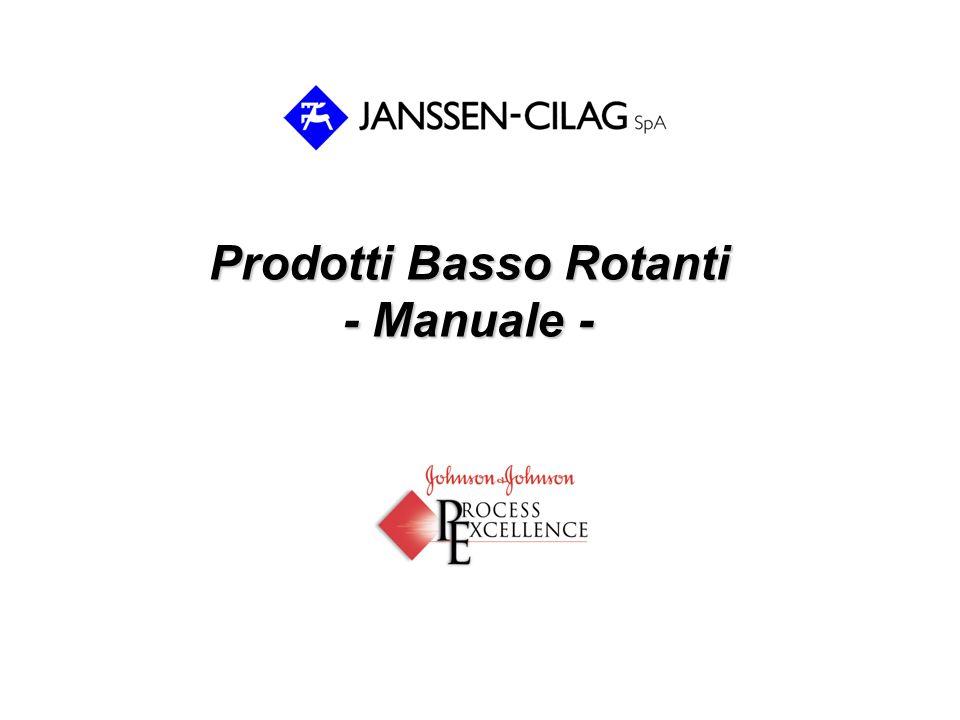 Prodotti Basso Rotanti - Manuale -