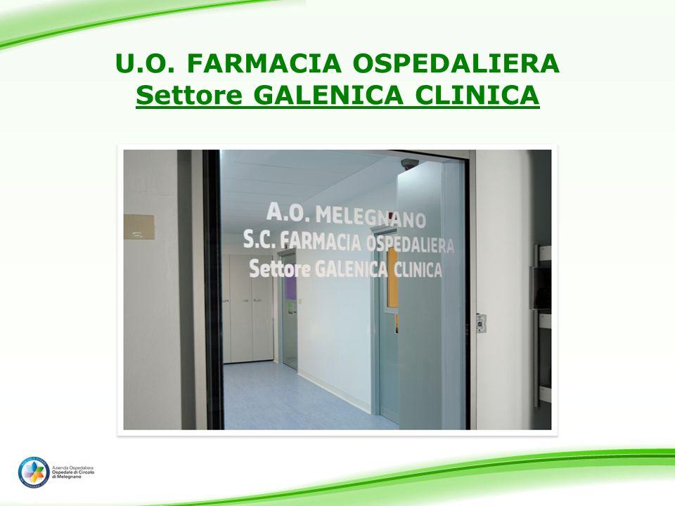 U.O. FARMACIA OSPEDALIERA Settore GALENICA CLINICA