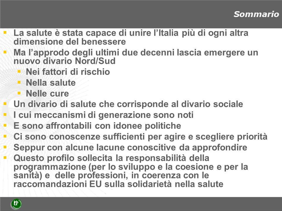 LA VARIABILITÀ SOCIALE NELLA MORTALITÀ - Uomini Marra e Zengarini, 2012 Un profilo simile (Ovest Est ) su scala europea