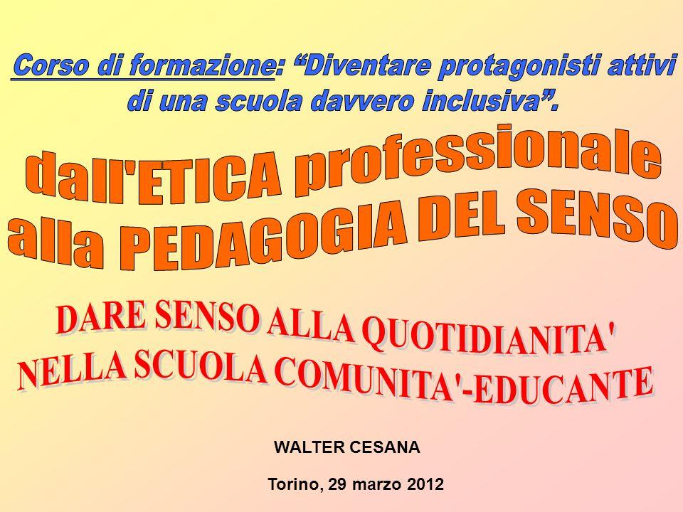 Torino, 29 marzo 2012 WALTER CESANA