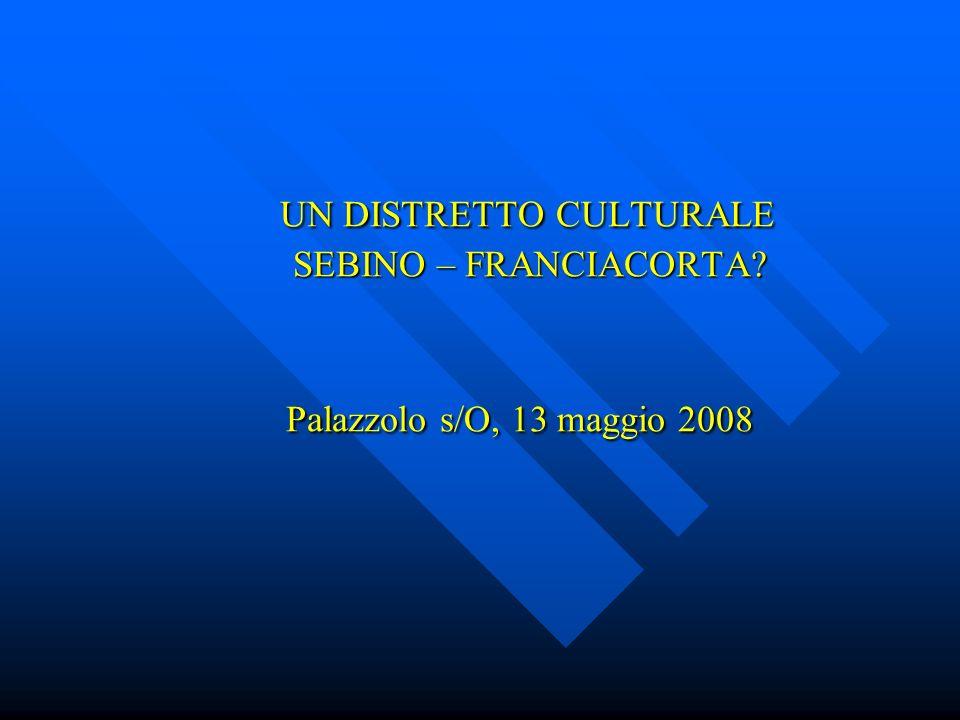 DATI STATISTICI Provincia di Brescia: Sebino – Franciacorta: sistema urbano sovracomunale di sistema urbano sovracomunale di 206 Comuni 24 Comuni, da Adro a Zone ( 8% del territ.) Zone ( 8% del territ.) 1.100.000 abitanti 156.000 abitanti 232 abitanti per Km2 338 abitanti per Km2 (14 % della popolaz.) (14 % della popolaz.) Crescita pop1971/2000: Crescita pop.