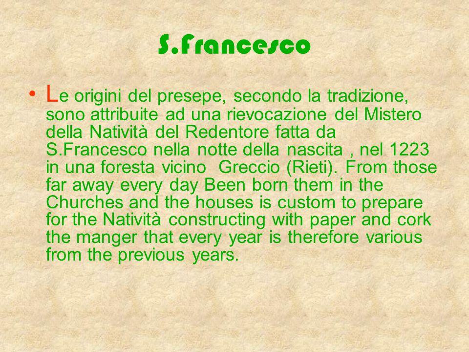 Il Presepe Affresco del sec. XV raffigurante