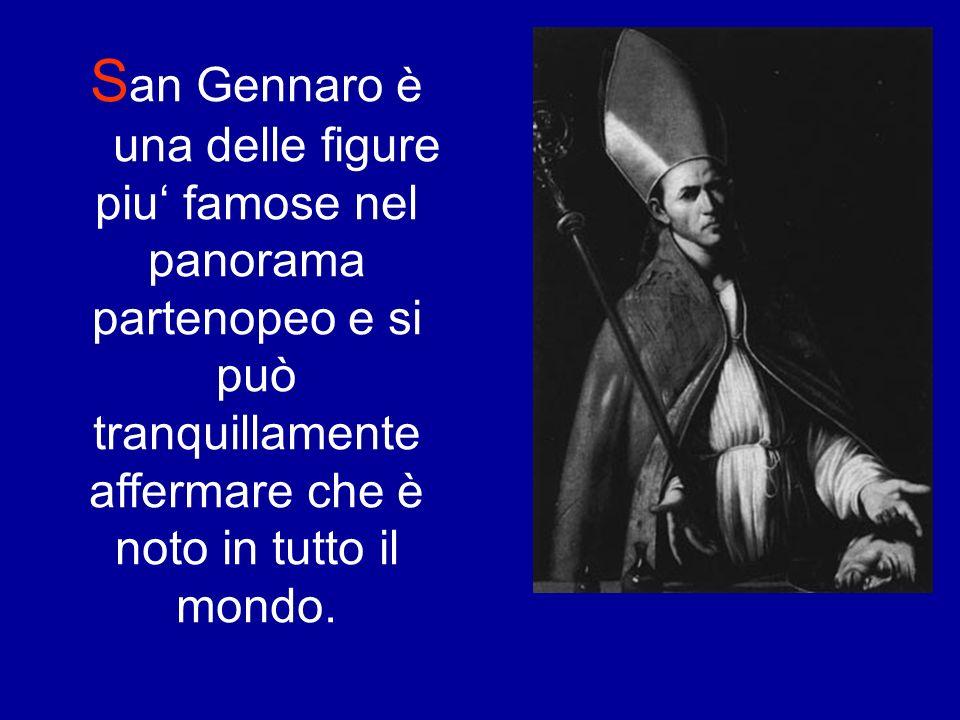 Il Miracolo di San Gennaro Cliccare sul quadrante per avviare il video