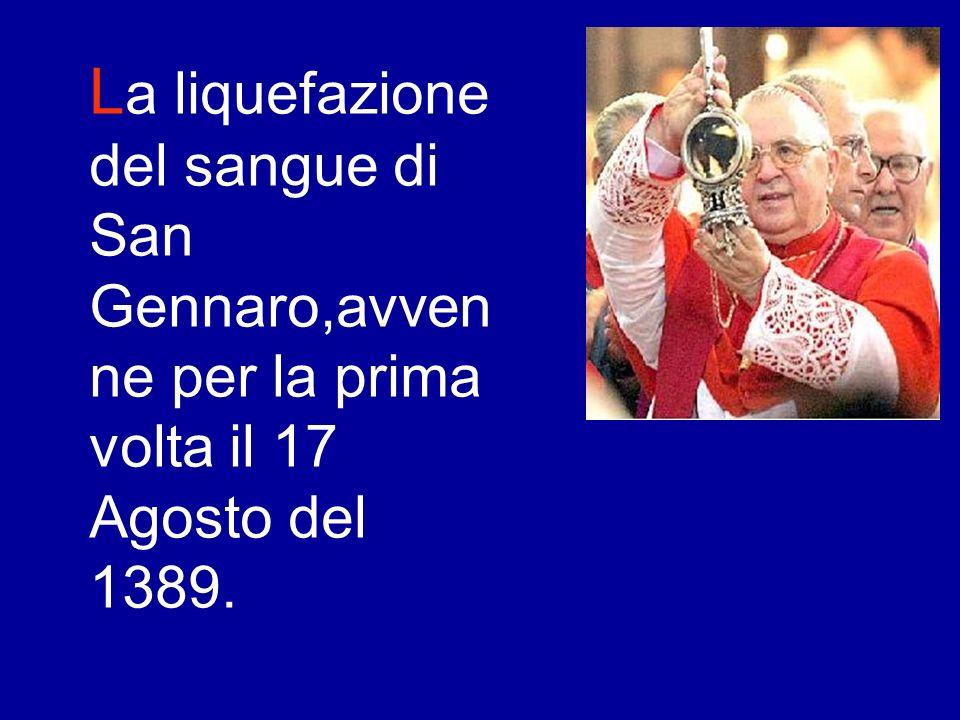 S an Gennaro è una delle figure piu famose nel panorama partenopeo e si può tranquillamente affermare che è noto in tutto il mondo.