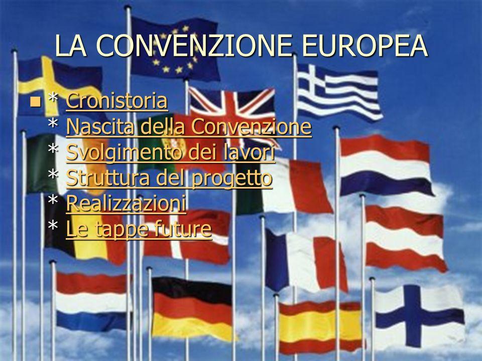 1 CRONOSTORIA CRONISTORIA CRONISTORIA Gli ultimi quindici anni della storia della costruzione europea sono stati caratterizzati da una serie di revisioni dei trattati europei, ognuna delle quali è stata approntata da una conferenza intergovernativa (CIG), composta dai rappresentanti dei governi degli Stati membri.