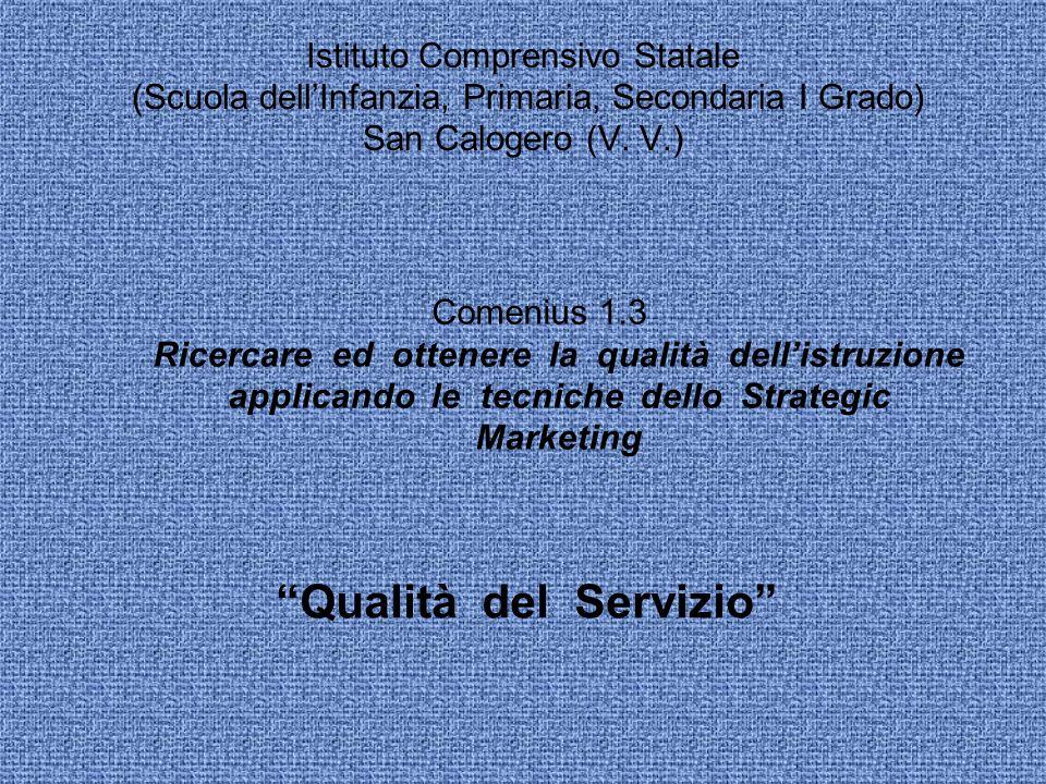 Istituto Comprensivo Statale (Scuola dellInfanzia, Primaria, Secondaria I Grado) San Calogero (V.