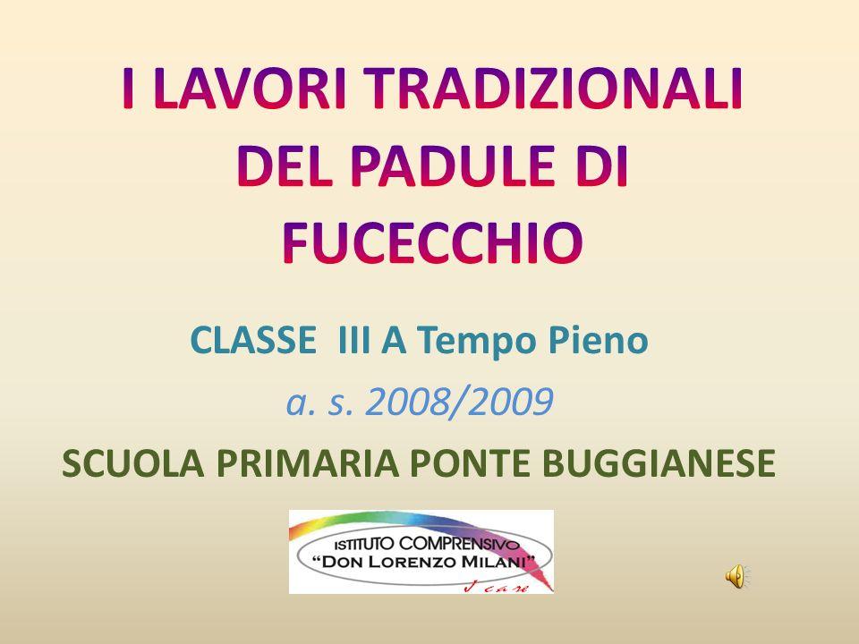 CLASSE III A Tempo Pieno a. s. 2008/2009 SCUOLA PRIMARIA PONTE BUGGIANESE