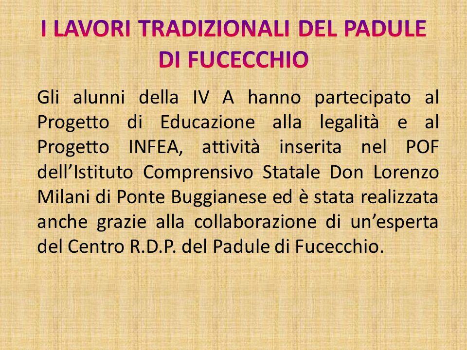 Gli alunni della IV A hanno partecipato al Progetto di Educazione alla legalità e al Progetto INFEA, attività inserita nel POF dellIstituto Comprensiv