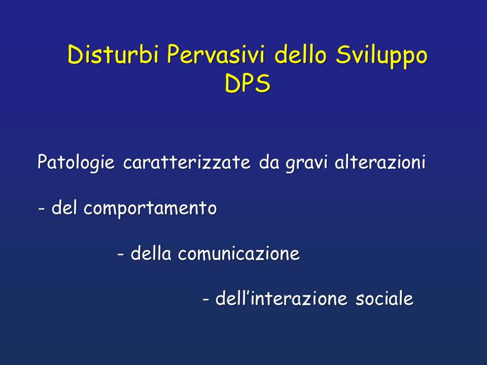 dellAmerican Psychiatric Association DSM IV Classificazione dellAmerican Psychiatric Association DSM IV