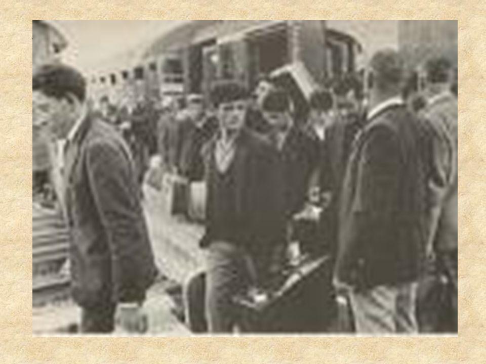 Alla fine degli anni 60, quindi nasce nellemigrante il bisogno di costruire il proprio benessere economico, sociale e culturale nel Settentrione dellI