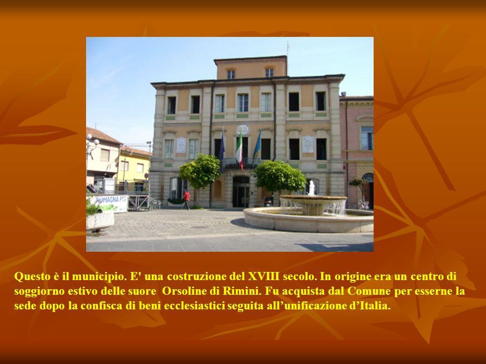 Questo è il municipio.E una costruzione del XVIII secolo.