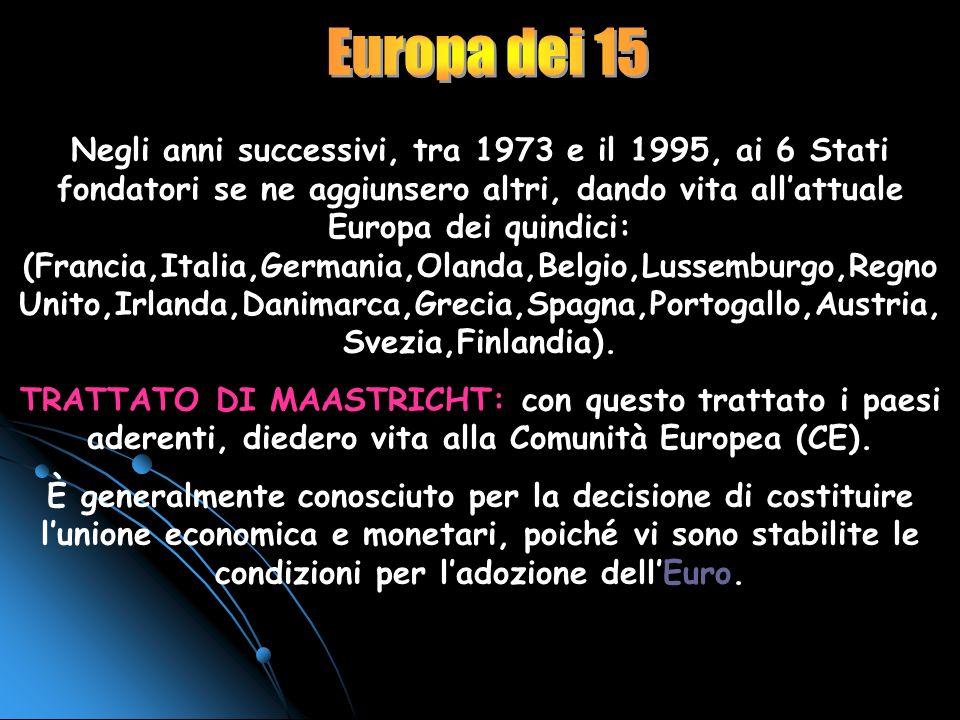La proposta di Costituzione europea La Costituzione approvata dai leader dellUE nel 2004 stabilisce in particolare: che il Presidente del Consiglio eu