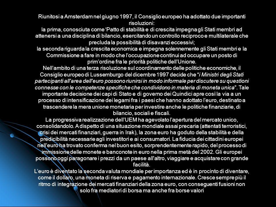Nel giugno 1989, al Consiglio europeo di Madrid la Commissione presieduta da Jacques Delors presenta un piano e un calendario per la realizzazione del