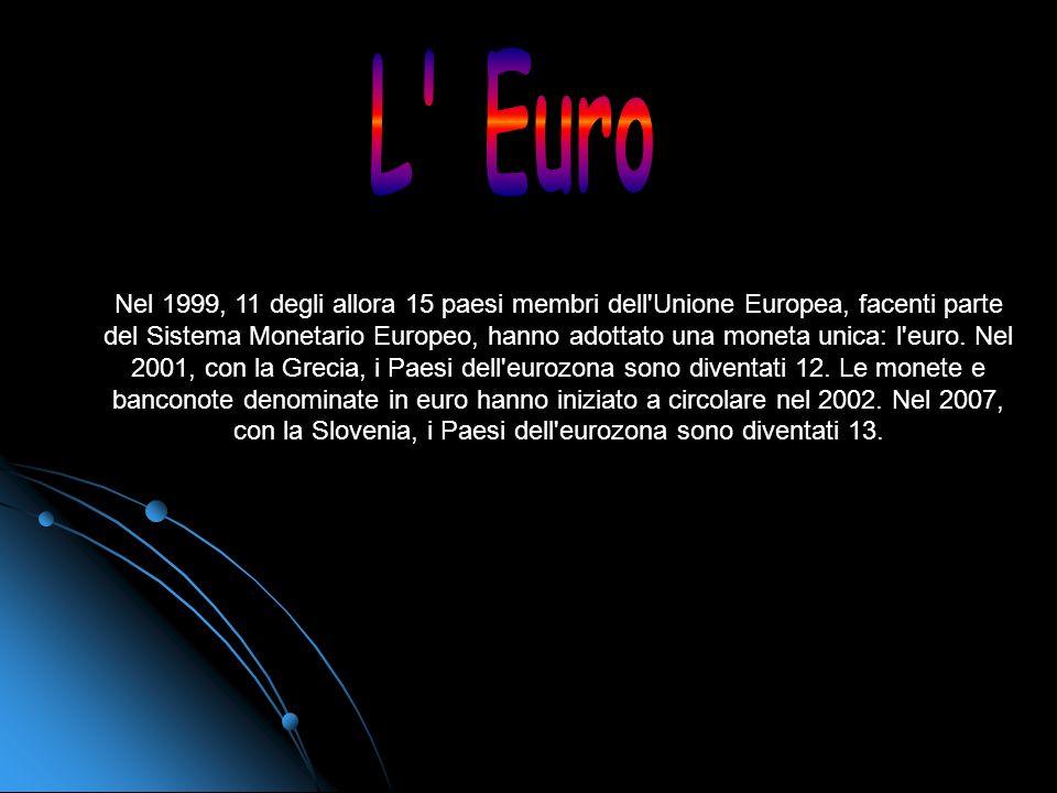 IL CALENDARIO DELL'EURO 7 febbraio 1992: firma del trattato di Maastricht Il trattato sullUnione europea e lUnione economica e monetaria viene conclus
