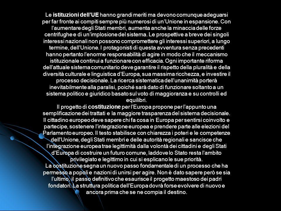 La rivoluzione tecnologica sta trasfigurando il mondo industrializzato e con esso la vita degli europei. Nascono nuove sfide le cui dimensioni oltrepa
