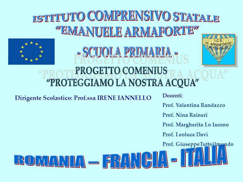 Docenti: Prof.Valentina Randazzo Prof. Nina Raineri Prof.
