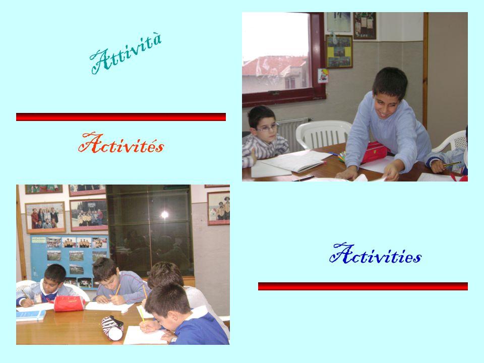 Activités Activities Attività