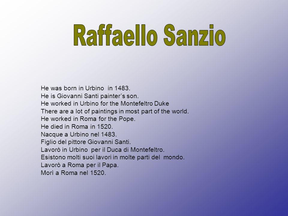 He was born in Fano in 1957 He lives in Fano He is Emilio Antonioni s grandson