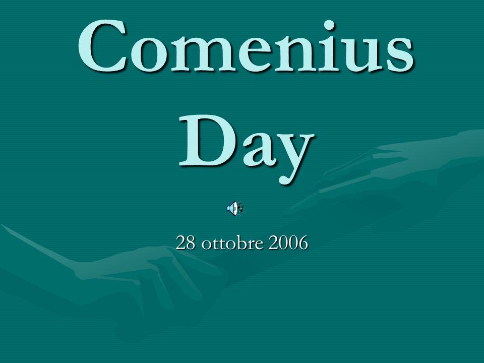 Inaugurazione ufficiale Il Sindaco di San Mauro Pascoli inaugura il progetto Comenius nella Sala Gramsci