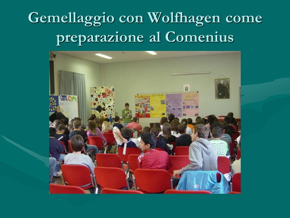 Gemellaggio con Wolfhagen come preparazione al Comenius