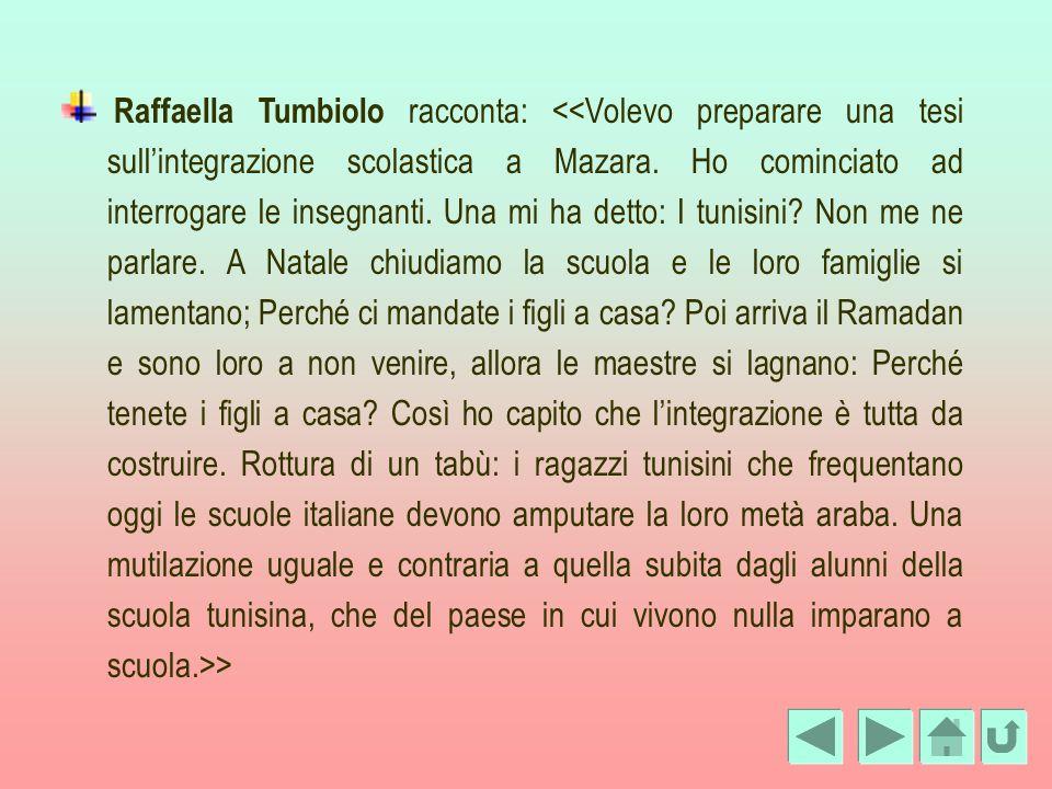 Raffaella Tumbiolo racconta: >
