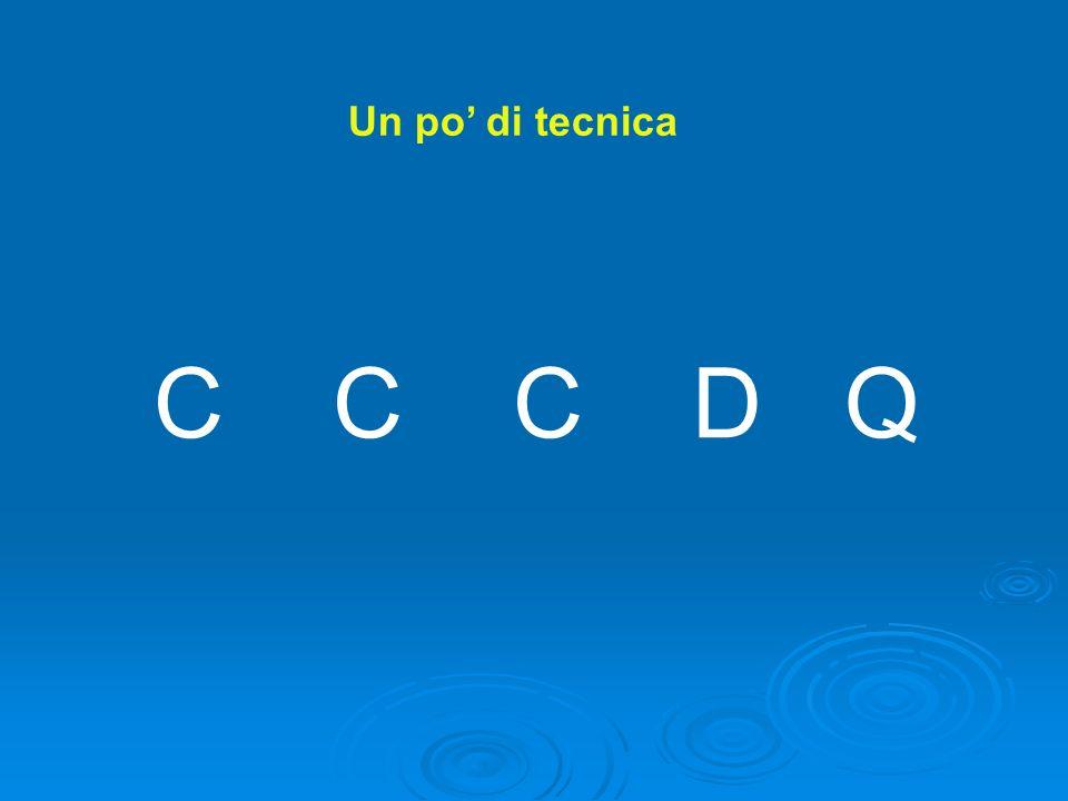 Un po di tecnica C C C D Q