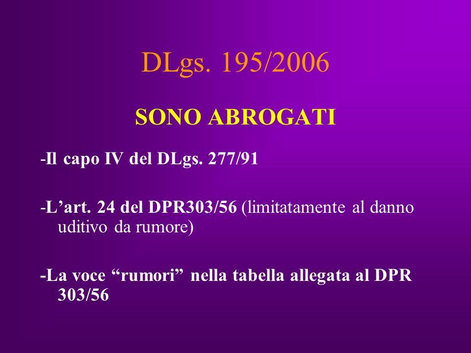 Dlgs.626/94 modificato Art.49-sexies.