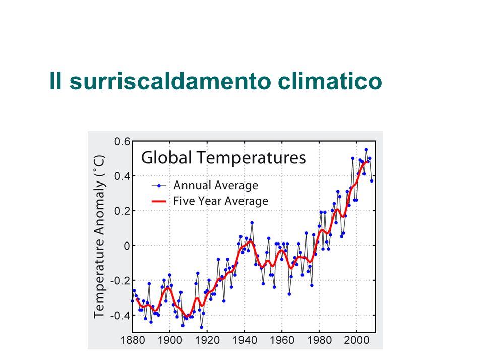 Per il futuro, le proiezioni del modello climatico riassunte dall IPCC indicano che la temperatura media superficiale del pianeta si dovrebbe innalzare probabilmente di circa 1,1 °C - 6,4 °C durante il XXI secolo.