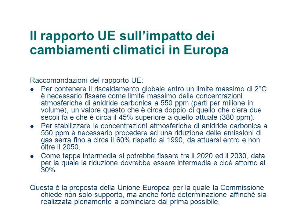Il rapporto ambiente Italia 2008 di Legambiente Si allontana il rispetto degli impegni di Kyoto, peggiora l efficienza energetica, aumentano i consumi dei trasporti, diminuisce la tassazione ambientale, le rinnovabili sono in crescita, ma restano sotto la media europea.