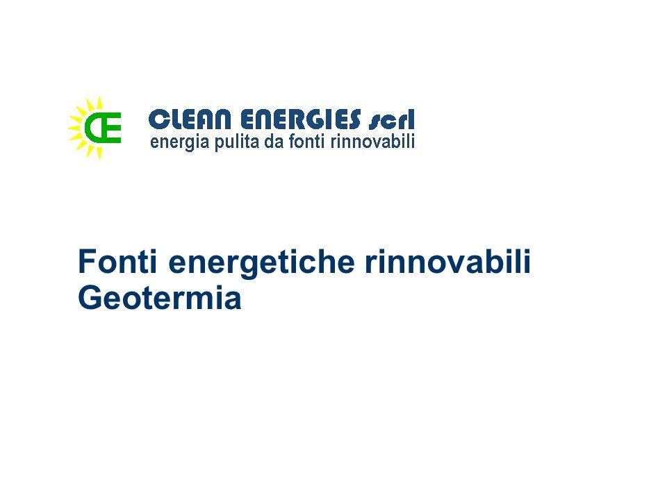 Geotermia L energia geotermica è una forma di energia che utilizza le sorgenti di calore che provengono dalle zone più interne della Terra, nel sottosuolo.