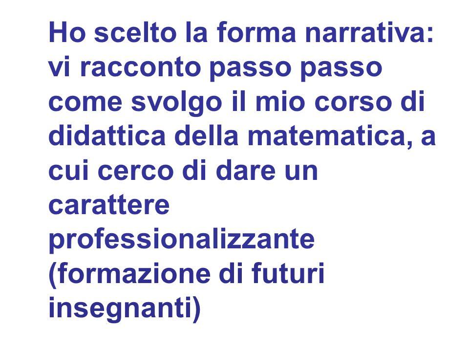 La storia nella didattica della matematica Fulvia Furinghetti Dipartimento di Matematica dellUniversità di Genova Un esempio particolare sulla formazi