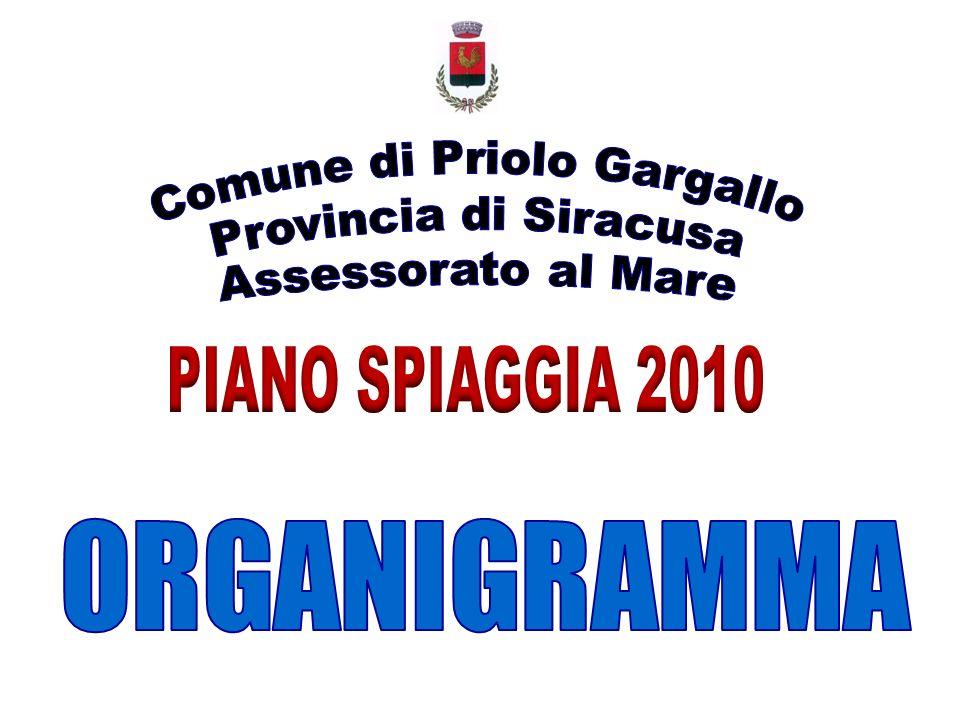 ENTI PUBBLICI E PRIVATI CHE CONCORRONO ALLATTIVAZIONE DEL PIANO SPIAGGIA 2010