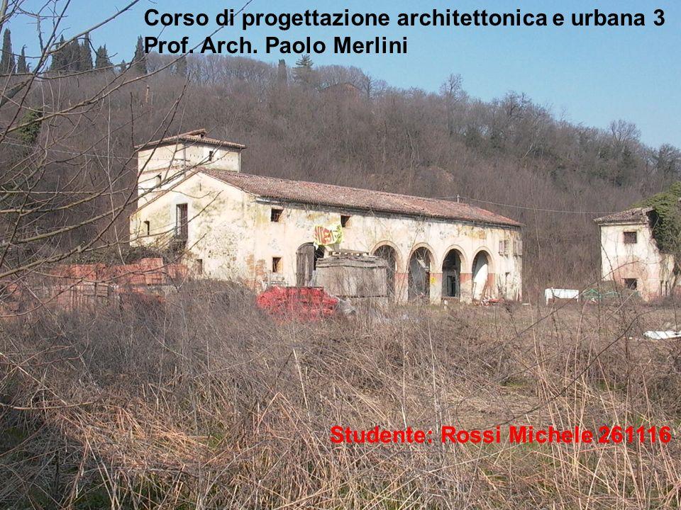 Corso di progettazione architettonica e urbana 3 Prof.