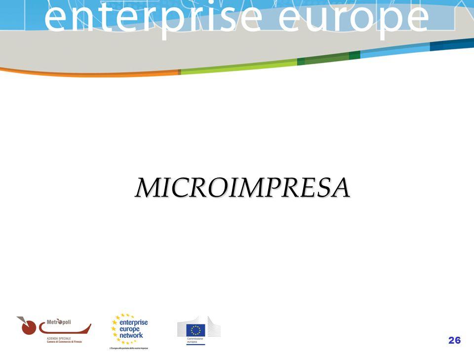 26 MICROIMPRESA MICROIMPRESA