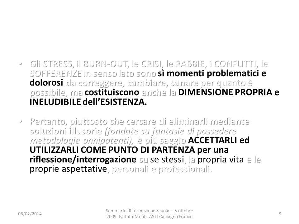 06/02/2014 Seminario di formazione Scuola – 5 ottobre 2009 Istituto Monti ASTI Calcagno Franco 14 QUALI SONO LE CAUSE.