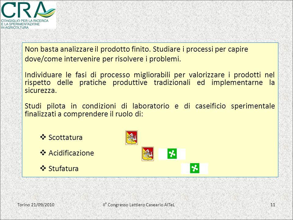 Non basta analizzare il prodotto finito. Studiare i processi per capire dove/come intervenire per risolvere i problemi. Individuare le fasi di process