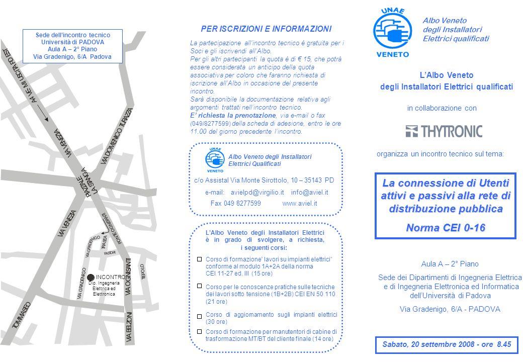 Ore 8.45 Registrazione dei partecipanti.Ore 9.15Saluto e presentazione L.