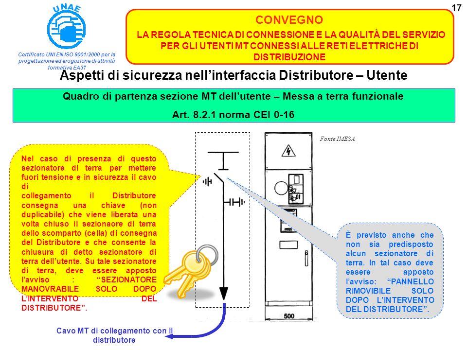 Certificato UNI EN ISO 9001:2000 per la progettazione ed erogazione di attività formative EA37 CONVEGNO LA REGOLA TECNICA DI CONNESSIONE E LA QUALITÀ