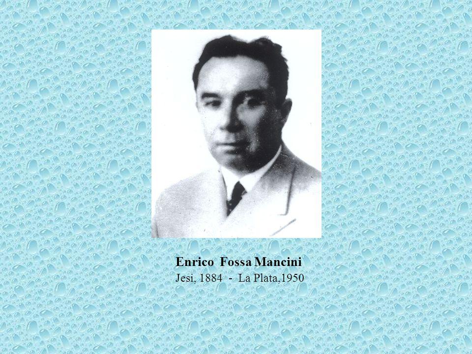 Il conte Enrico Fossa Mancini nacque a Jesi l8 dicembre 1884 da Eugenio e Margherita Censi, discendente da nobile famiglia originaria di Arcevia.