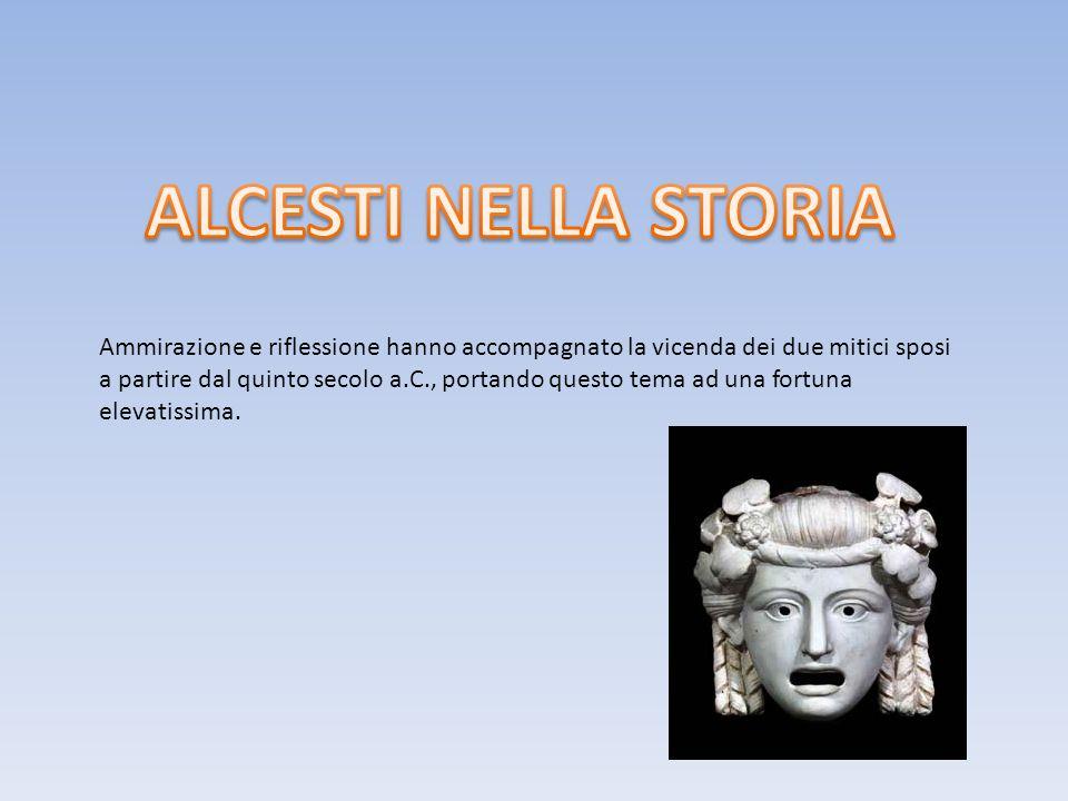Ammirazione e riflessione hanno accompagnato la vicenda dei due mitici sposi a partire dal quinto secolo a.C., portando questo tema ad una fortuna ele